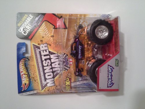 2013 Hot Wheels Monster Jam Monster Truck - The Predator with Crushable Car!