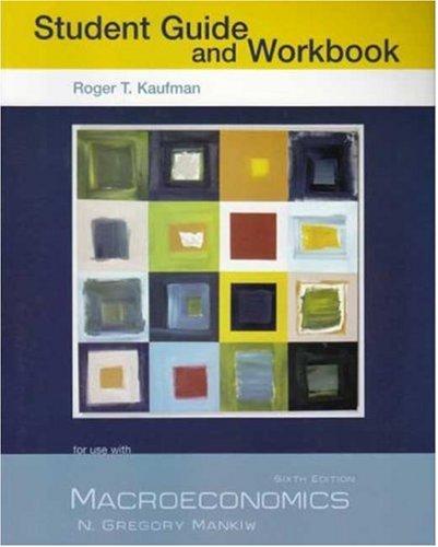 Macroeconomics Study Guide and Workbook