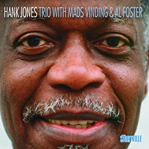 Hank Jones - Trio With Mads Vinding & Al Foster cover 