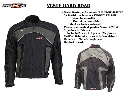 Msa International - Veste -Hard Road- Rokx - Noir