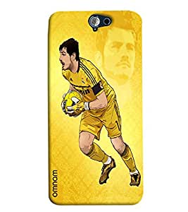 Omnam Iker Casillas Football Player Printed Designer Back Cover Case For HTC One A9