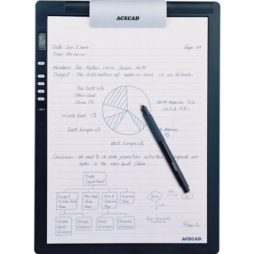 DigiMemo L2 Digital Notepad with 32MB Built-In Memory DigiMemo L2 Digital Notepad with 32MB Built-I