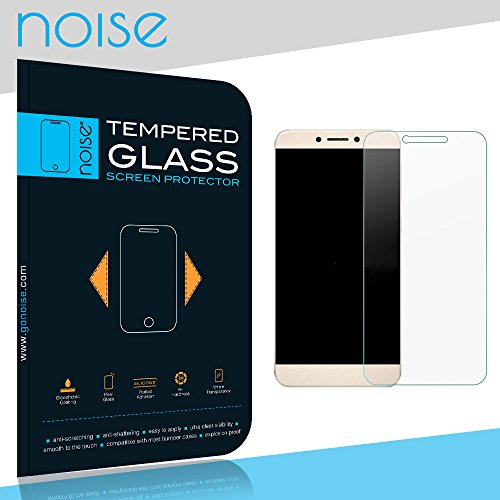 Noise Tempered Glass Screen protector For LeEco Le2 with 2.5D Curved Edge, 9H Hardness, Ultra Thin (Combo Deal) (1 Pack)  available at amazon for Rs.139