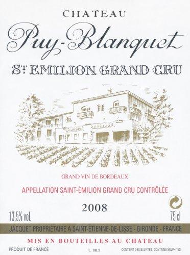 2008 Chateau Puy Blanquet Bordeaux 750 Ml