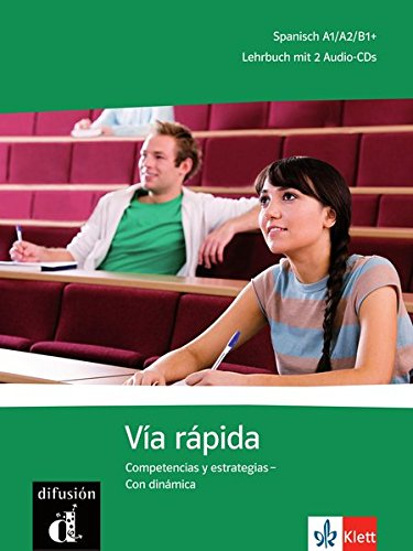 via-rapida-competencias-y-estrategias-con-dinamica-lehrbuch-2-audio-cds