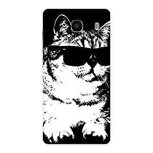 Premium Thug Cat Back Case Cover for Redmi 2s