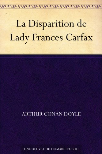 la-disparition-de-lady-frances-carfax-french-edition