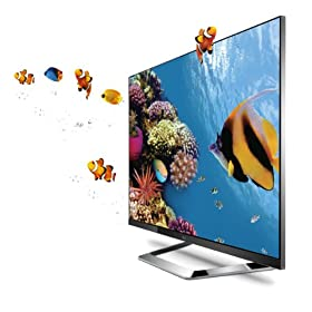 LG Cinema Screen 47LM7600 47-Inch Cinema 3D 1080p 240Hz LED-LCD HDTV with Smart TV and Six Pairs of 3D Glasses