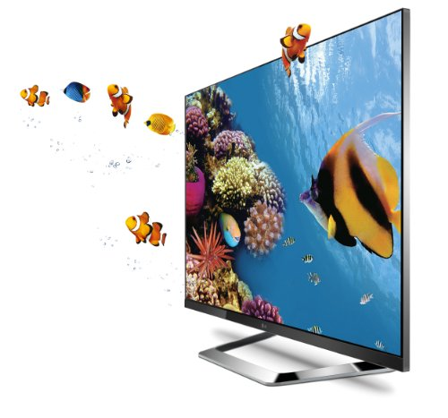 51itew6FyAL 55inch LG Cinema Screen 55LM7600 55 Inch Cinema 3D 1080p 240Hz LED LCD HDTV with Smart TV and Six Pairs of 3D Glasses On Sale