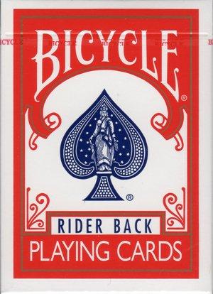 BICYCLE(バイスクル)トランプ/RED BACK【赤】