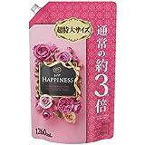 【大容量】 レノア ハピネス 柔軟剤 アンティークローズ&フローラル 詰替用 超特大サイズ 1260ml