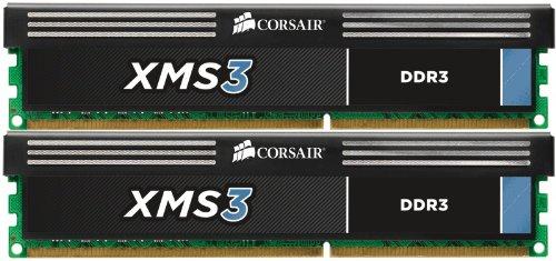 Corsair CMX16GX3M2A1600C11 XMS 16GB 1600MHz CL11 DDR3 Memory Stick