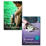 Diane Chamberlain Diane Chamberlain Collection 2 Books Set, (Before the storm and the midwife's confession)