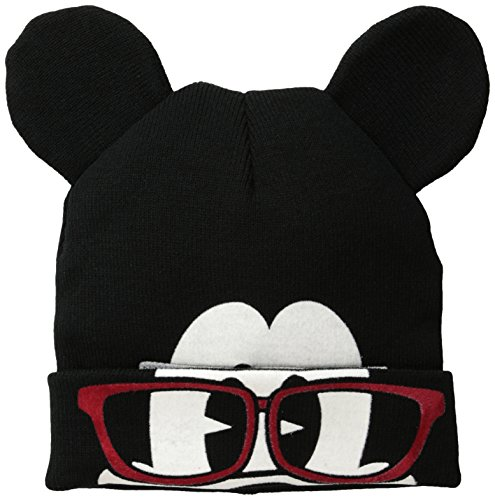 Disney Men's Mickey Flip Mask Beanie