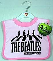 The Beatles Abbey Road Bib ~ Pink