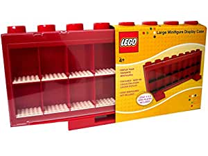 Lego - 106 - Ameublement et Décoration - Vitrine Figurines 16 Cases - Rouge