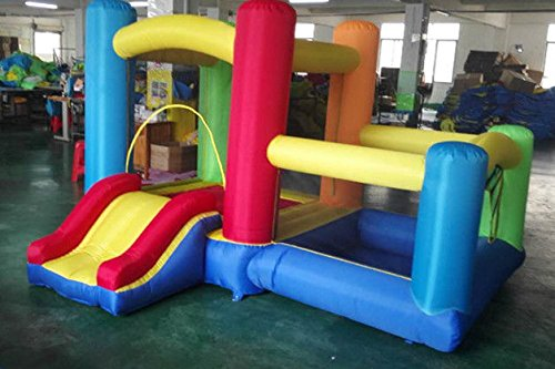 Expandable Packaged w/ Attachable Ball Pit - My Bouncer Little Expandable Castle Bounce 72