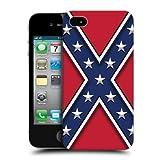 Head Case Designs Rebel Flag Redneck Pride Hard Back Case Cover for Apple iPhone 4 4S