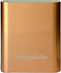 Maxxlite 10400mAh Aluminum Casing Power Bank Gold