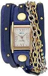 La Mer Collections Women's WANDERLUST00300 Analog Display Japanese Quartz Blue Watch