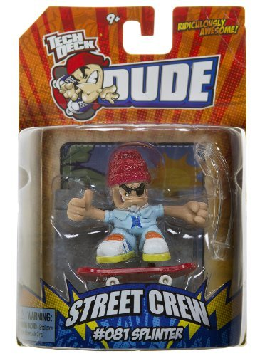 Tech Deck Dude Ridiculously Awesome Street Crew: #081 Splinter - 1