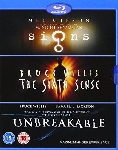M. Night Shyamalan - Collection - Signs / The Sixth Sense / Unbreakable [Blu-ray] (Region Free)