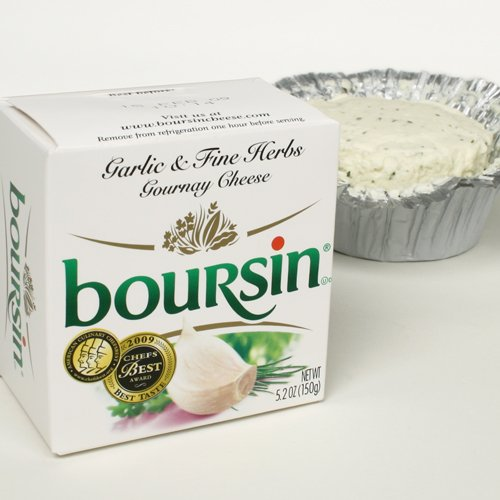 Boursin - Garlic and Fine Herbs (5 ounce) (Spreadable Creme Cheese compare prices)