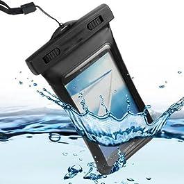 Semoss Custodia Impermeabile Waterproof per Samsung Galaxy S Duos S7562,Cover Subacquea Chiusura Ermetica