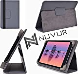 Grey Ematic Pro Series Case|Cover With Adjustable Stand Nu Vur |Mu08 Exe1|