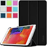 Pellem 2014SC Samsung Galaxy Tab Pro 8.4 Case - Ultra Slim Lightweight SmartCover Stand Case for SM-T320 / T321 / T325 Samsung Galaxy Tab Pro 8.4 Inchs Tablet,BLACK(With Smart Cover Auto Wake/Sleep)