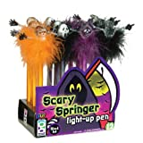 Raymond Geddes, Scary Springer Light-Up Pen, 12 Per Display (669870) (Color: Scary Light-Up Pen)