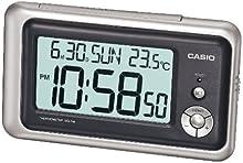 Comprar Casio DQ-748-8EF - Reloj despertador (digital, cuarzo, multifunción), color gris/negro