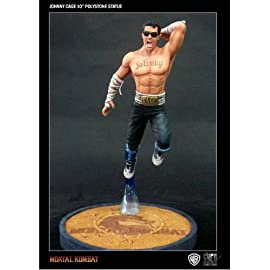 Johnny Cage Mortal Kombat Syco Collectibles 10 Inch Polystone Statue (preOrder)