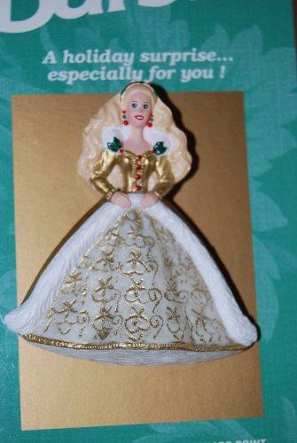 Hallmark Barbie Holiday Pin 1996