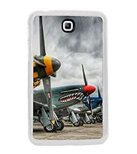 Cartoon Planes 2D Hard Polycarbonate Designer Back Case Cover for Samsung Galaxy Tab 3 8.0 Wi-Fi T311/T315, Samsung Galaxy Tab 3 8.0 3G, Samsung Galaxy Tab 3 8.0 LTE