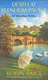 Death at Blenheim Palace (Robin Paige Victorian Mysteries, No. 11) (0425200353) by Paige, Robin