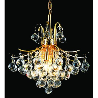 Elegant Lighting Toureg 20-Inch High 6-Light Chandelier