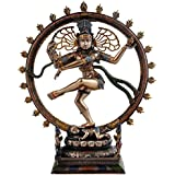 Shiva Natraj Murti, Dancing Nataraja Statue For Home Decoration 10 Inch