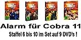 Alarm für Cobra 11 - Staffel  6-10 (9 DVDs)