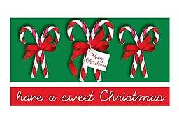 Jillson Roberts Christmas Money Holders, Candy Christmas, 24-Count (XMH791)
