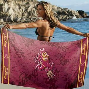 Buy Arizona State Sun Devils Beach Towel: 30x60 Fiber Reactive by McArthur