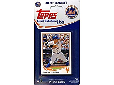 MLB New York Mets Licensed 2013 Topps® Team Sets