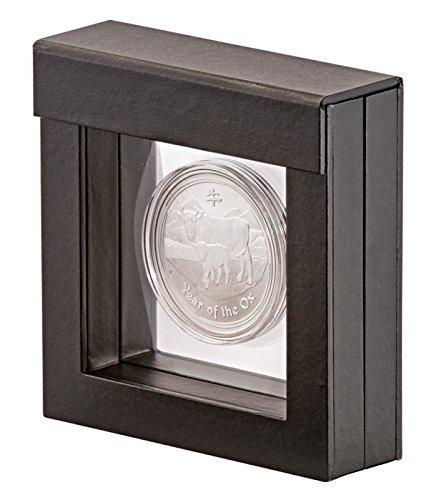 Single Challenge Coin Display Case Box Holder Shadowbox