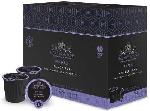 Harney And Sons Paris Black Tea Capsules, 24 Count