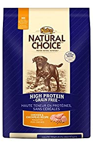The Nutro Company Natural Choice Chicken and Chickpeas High Protein Grain-Free Recipe for Pets, 4-Pound