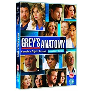 Greys Anatomy Season 8 [Import anglais]