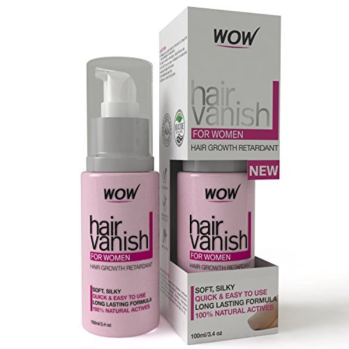 WOW Hair Vanish For Women - Best Hair Retardant - 100ml - Long Lasting Hair Removal For Women (Woman Hair Remover compare prices)
