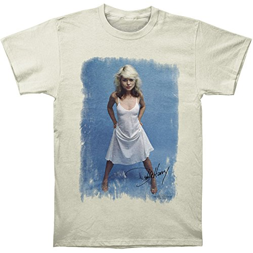 Official Debbie Harry White Dress Photo T-shirt for Men