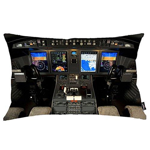 i-famuray-almohada-decorativa-sofs-bombardier-challenger-600-cockpit-theme-20x36-inches