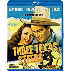Three Texas Steers [Blu-ray]